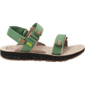 Jack Wolfskin Outfresh Deluxe Sandals Men, green/brown